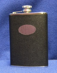 Black Flask for Groomsmen