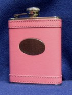 Hot Pink Flask for Briodesmaids