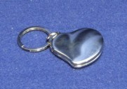 3230 Free Form Heart Key Ring Locket