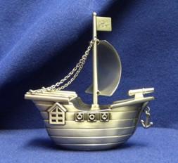Pirate Ship for Ring Bearer